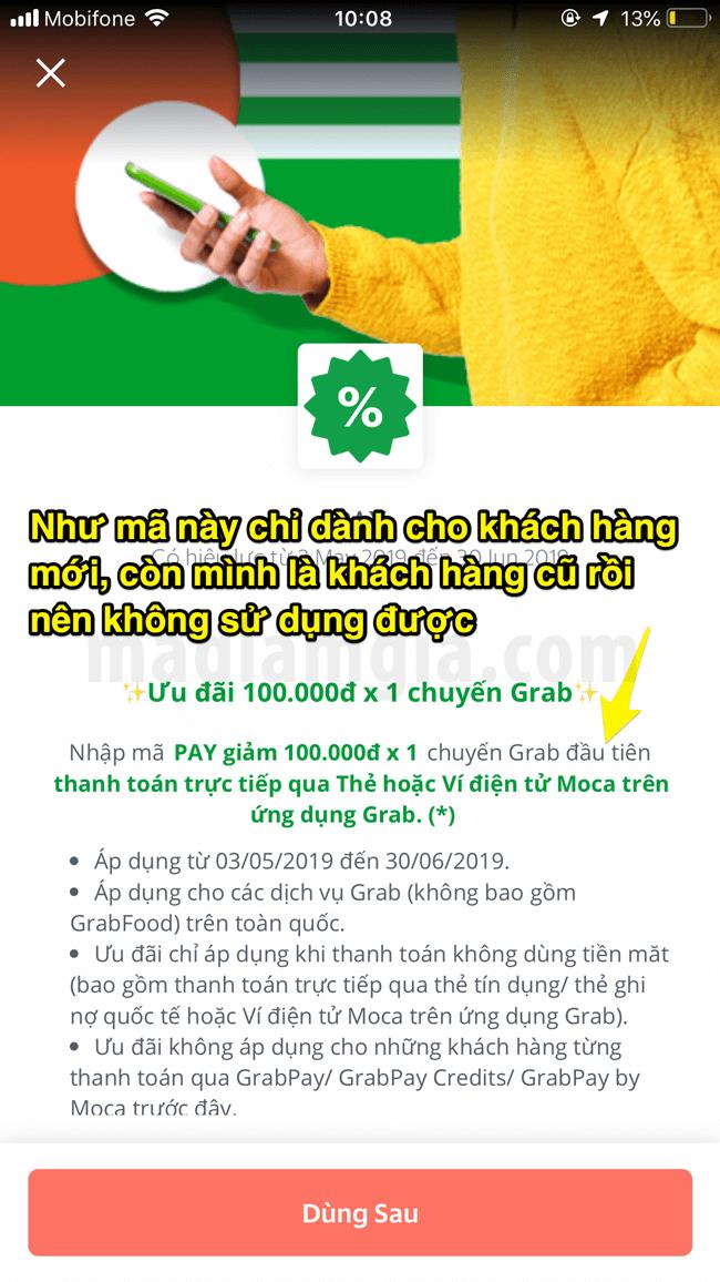 Mã giảm giá Grab tháng 9/2019 dùng đặt GrabBike, GrabCar