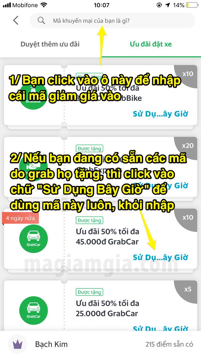 Mã giảm giá Grab tháng 8/2019 dùng đặt GrabBike, GrabCar, Food, Taxi