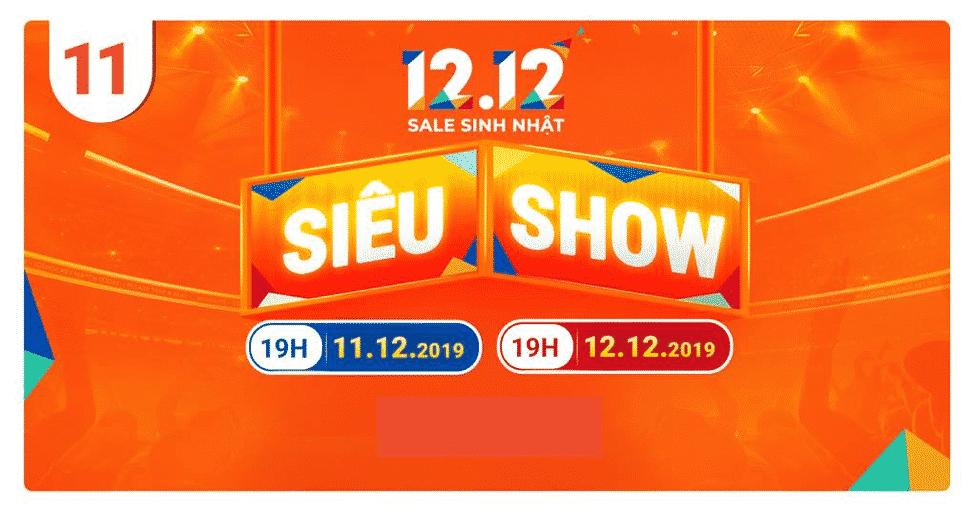 12 điều không thể bỏ lỡ shopee 12.12.2019