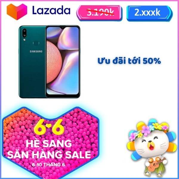 Samsung Lazada khuyến mãi